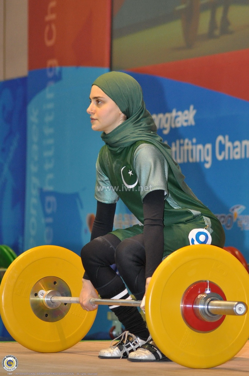 2012 Asian Weightlifting Championships the day before & competition day (3 & 4)