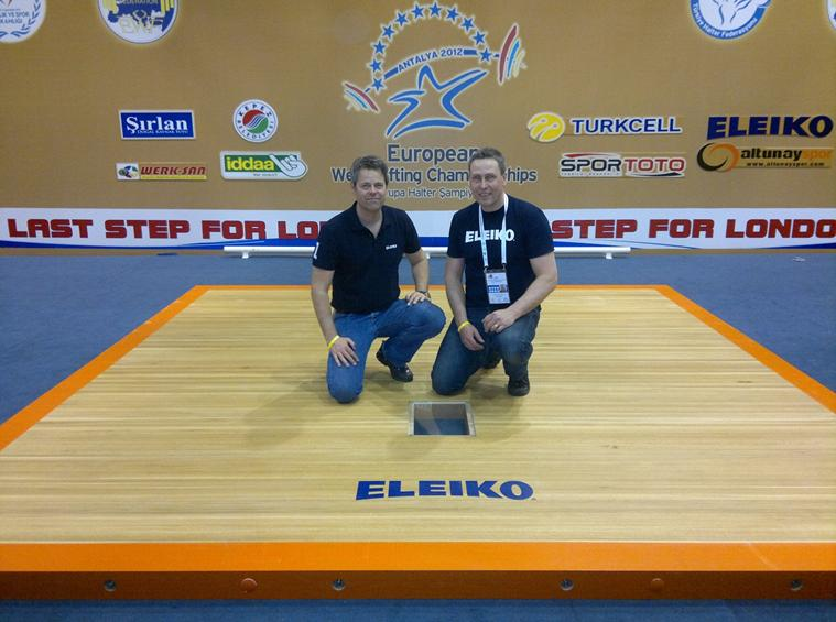 Eleiko Competition Platform For The Olympic Games Tested
