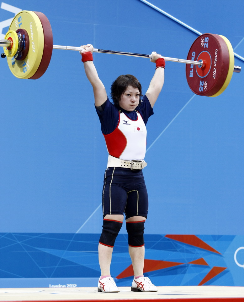 Wang Claims First Weightlifting Gold International