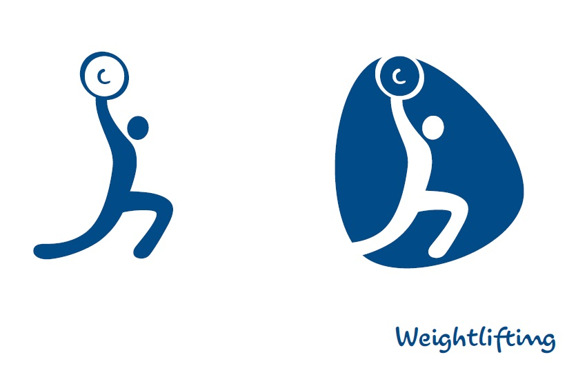 Rio 2016 Launches Games Sport Pictograms 1000 Days To Go