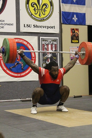 Louisiana State University Shreveport >> Japanese weightlifters participating in the LSUS Camp for