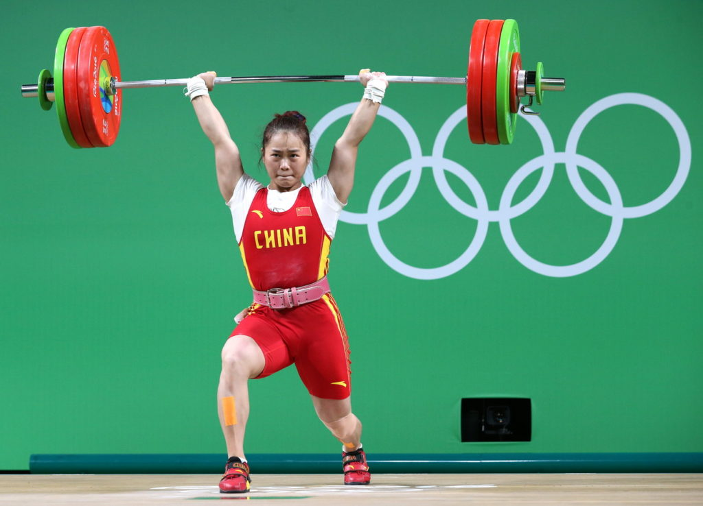 Two Golds For China Two World Records For Deng