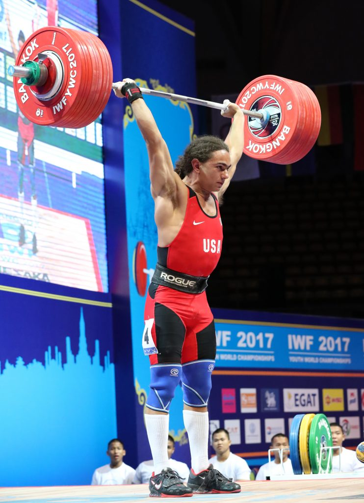 One More Youth World Record For Usa Maurus Harrison