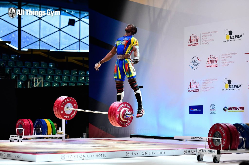 weightlifter vertical jump