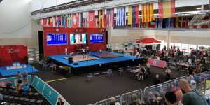 The two platforms - Masters World Championships