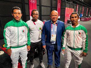 Team Madagascar at Tokyo 2020